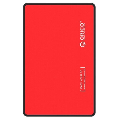 Фото - Корпус для HDD/SSD ORICO 2588US3 красный корпус 2 5 orico 2588us3 sata usb3 0 black