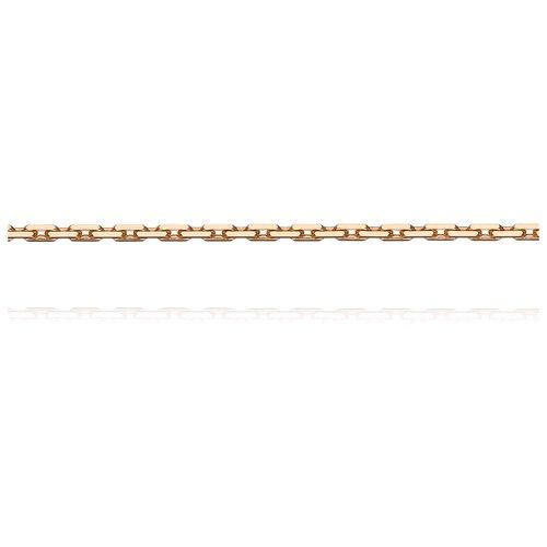 АДАМАС Цепь из золота плетения Якорь одинарный ЦЯ150ВА4-А51, 50 см, 3.76 г