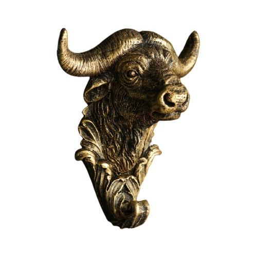 Крючок Хорошие сувениры Символ года: Буйвол бронзовый