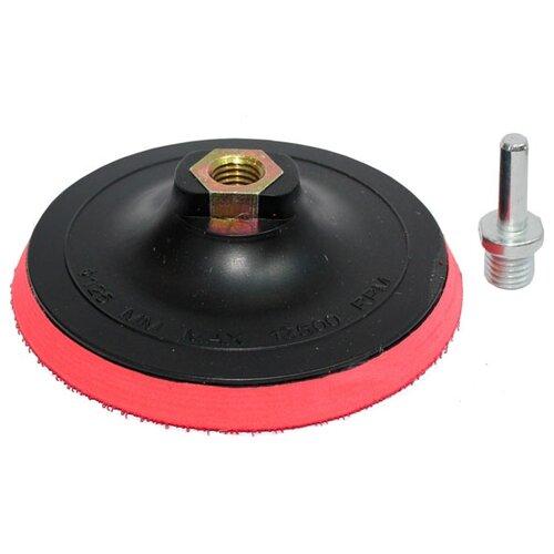 Тарелка для УШМ на липучке Росомаха 435010 125 мм 1 шт тарелка для ушм практика 038 524 125 мм 1 шт