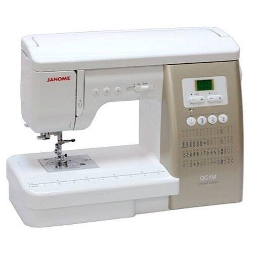 Швейная машина Janome QC 1M, бело-золотой