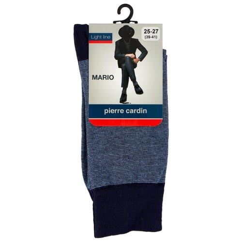 Носки Light line. Mario Pierre Cardin, 39-41 размер, темно-синий/синий мокасины alessio nesca 00306050 39 темно синий 39 размер