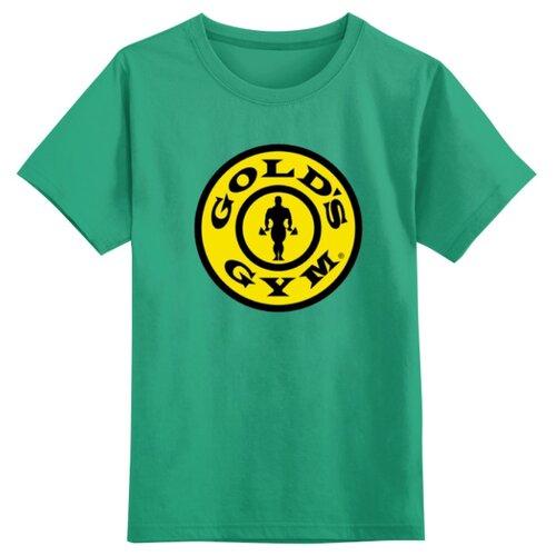 Купить Футболка Printio размер 5XS, зеленый, Футболки и майки