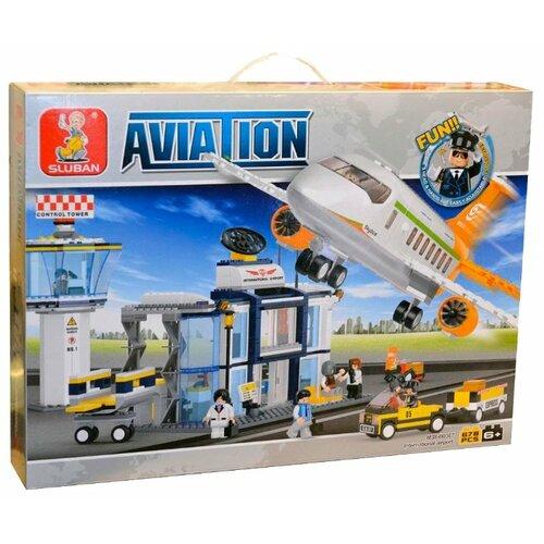 Купить Конструктор SLUBAN Авиация M38-B0367, Конструкторы