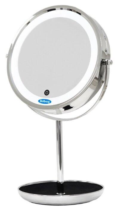 Зеркало косметическое настольное Belberg BZ-04 с подсветкой