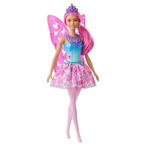 Фото - Кукла Barbie Dreamtopia Фея, 30 см, GJJ99 кукла barbie dreamtopia