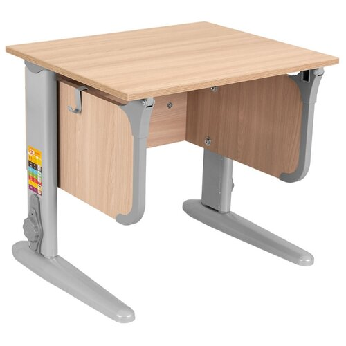 Купить Стол ДЭМИ СУТ-47 60x50 см ясень/серый/серый, Парты и столы