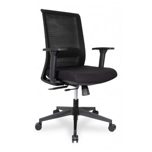 Компьютерное кресло College CLG-429 MBN-B офисное, обивка: текстиль, цвет: черный компьютерное кресло college clg 619 mxh b офисное обивка текстиль цвет бежевый