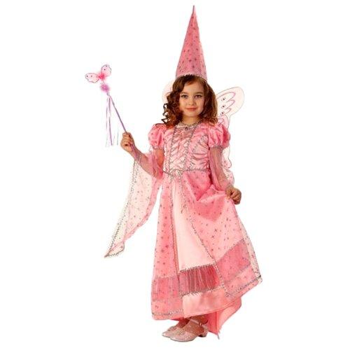Купить Костюм Батик Фея сказочная (477), розовый, размер 134, Карнавальные костюмы