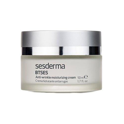 SesDerma BTSeS Anti-wrinkle Moisturizing Cream Крем увлажняющий против морщин на лице, 50 мл отшелушить кожу на лице
