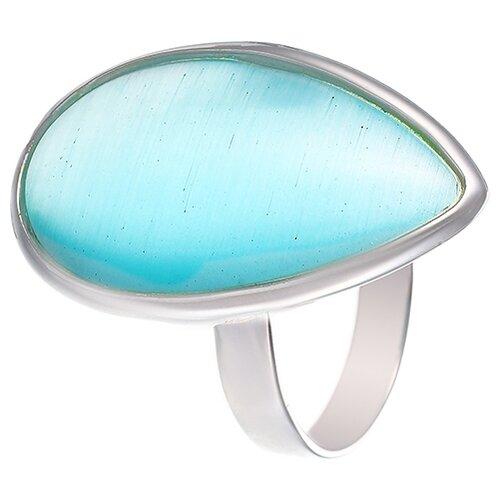 JV Кольцо с ювелирным стеклом из серебра B3200-US-003-WG, размер 18 jv кольцо с стеклом из серебра b3200 us 018 wg размер 18