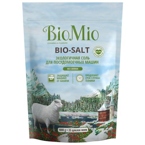 BioMio Соль Bio-Salt для посудомоечных машин 1 кг ludwik соль для посудомоечных машин 1 5 кг