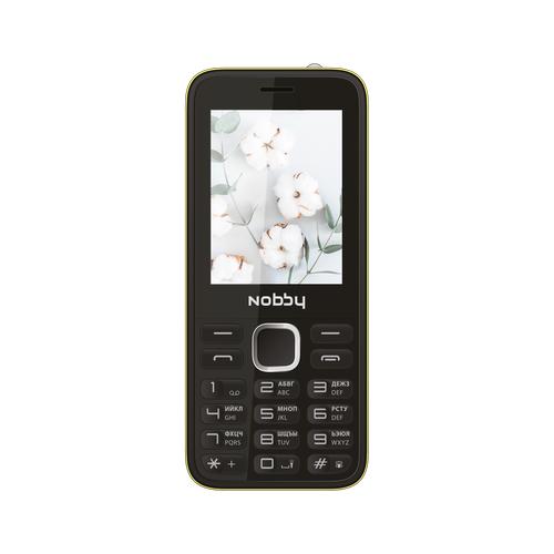 Телефон Nobby 221 желтый (NBP-BP-24-212) недорого