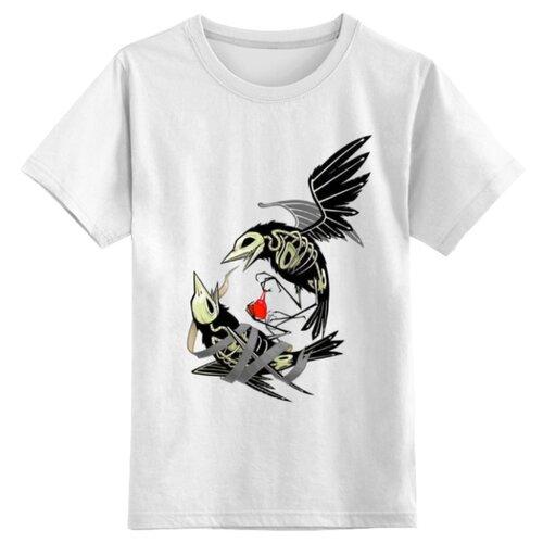 Футболка Printio размер 2XS, белый