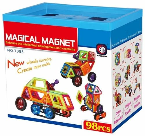 Характеристики модели Магнитный конструктор Xinbida Magical Magnet 7098-98 на Яндекс.Маркете