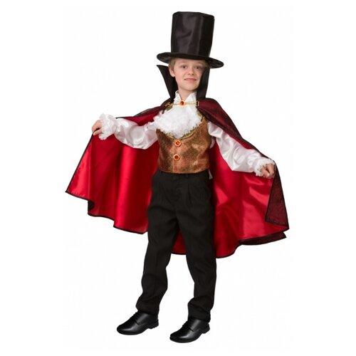 Купить Костюм Батик Дракула парадный (8079), красный/черный, размер 152, Карнавальные костюмы