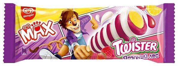 Мороженое Max Twister Ягодный лес лимон-ваниль 67 г