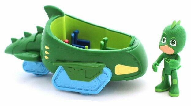 Фигурка Intertoy PJ Masks Геккомобиль 32612