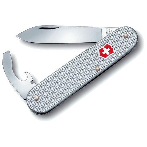 Нож многофункциональный VICTORINOX Bantam Alox (5 функций) серебристый нож victorinox bantam 0 2303 red