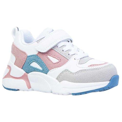 Кроссовки КОТОФЕЙ размер 28, белый/розовый