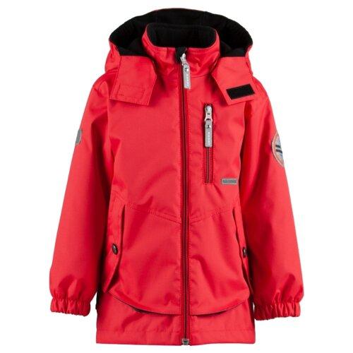 Куртка KERRY Wes K19024 размер 122, красный/черныйКуртки и пуховики<br>