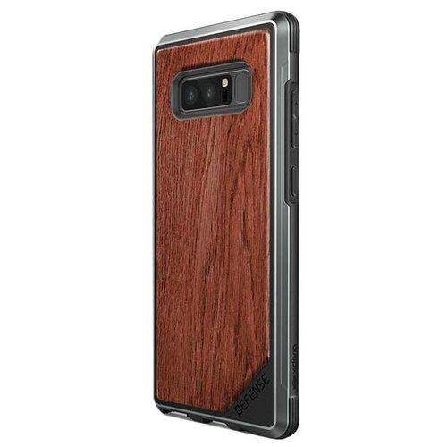 Чехол X-Doria Defense Lux для Samsung Galaxy Note 8 коричневыйЧехлы<br>