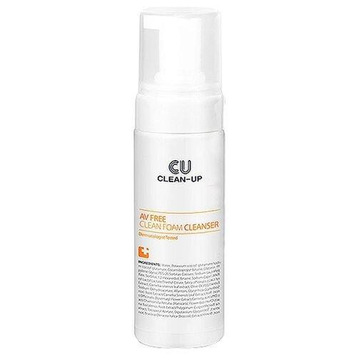 цена на CU Skin Очищающая пенка CLEAN-UP AV Free Clean Foam Cleanser, 150 мл