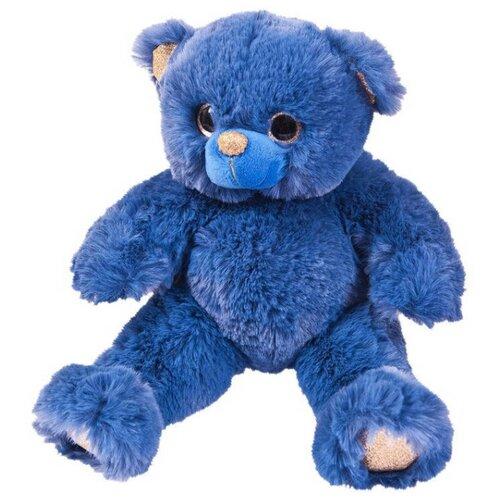 Мягкая игрушка ABtoys Медведь синий 16 см