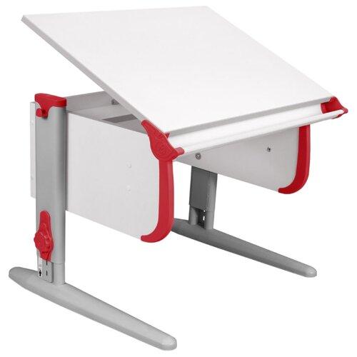 Купить Стол ДЭМИ СУТ-24 75x55 см белый/красный/серый, Парты и столы