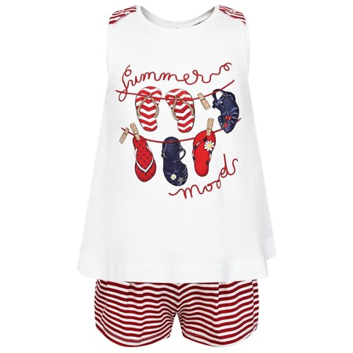 Комплект одежды Mayoral размер 110, rojo комплект одежды mayoral размер 110 белый зеленый