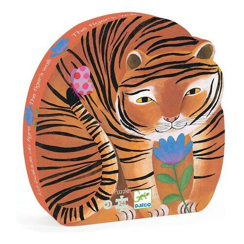 Купить Пазл DJECO Тигр (07201/16), 24 дет., Пазлы