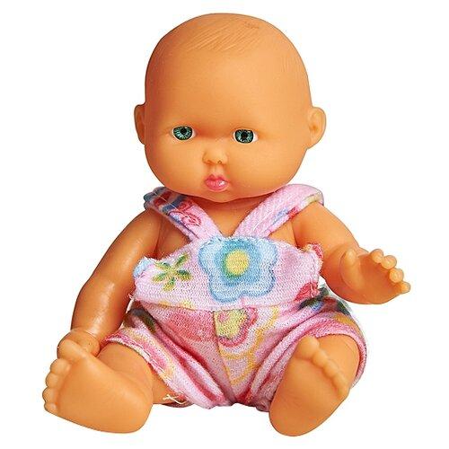 Пупс Lovely baby doll в комбинезоне, 12.5 см, XM629/3Куклы и пупсы<br>