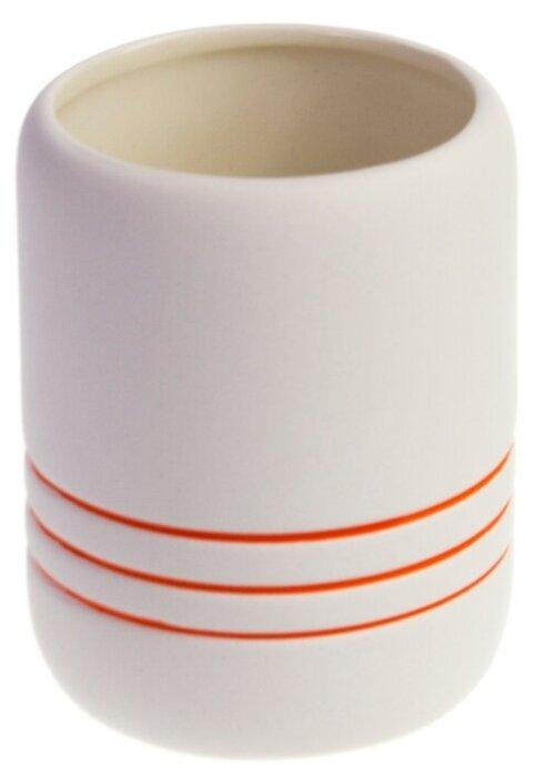 Стакан для зубных щеток PROFFI Orange PH10076
