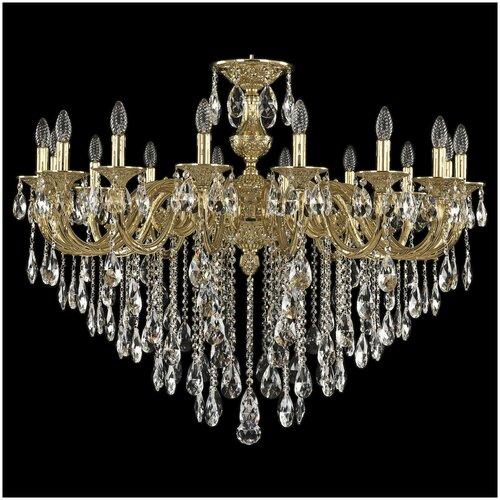 Фото - Люстра Bohemia Ivele Crystal 71201/16/360 B G, E14, 640 Вт люстра bohemia ivele crystal 7201 72301 12 360 b g e14