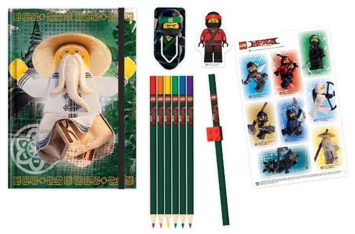 Канцелярский набор LEGO Ninjago Movie (51890), 12 пр.
