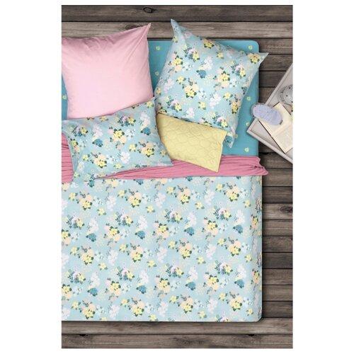 Постельное белье семейное Sova & Javoronok Спящая красавица, бязь, 50 х 70 см зеленый постельное белье 1 5сп sova