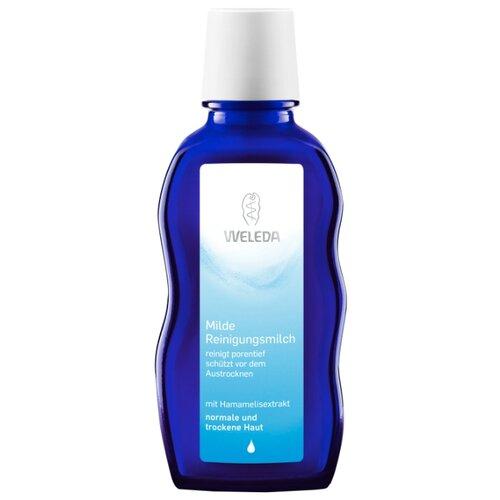 Weleda нежное очищающее молочко для нормальной и сухой кожи, 100 мл молочко для тела weleda weleda we008lwgpj27