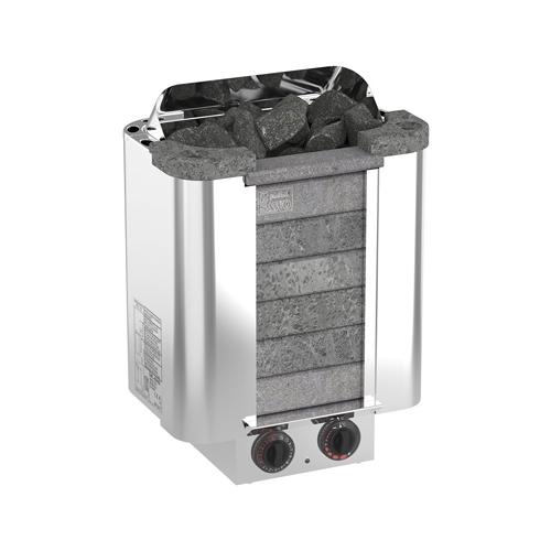 Электрическая банная печь Sawo Cumulus CML-90NB-P серебристый/серый