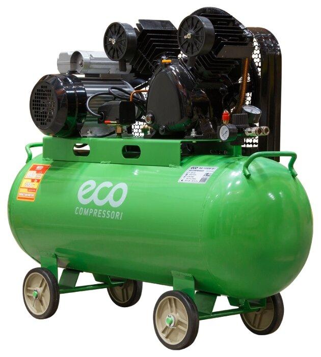 Компрессор масляный Eco AE-1005-B1, 100 л, 2.2 кВт