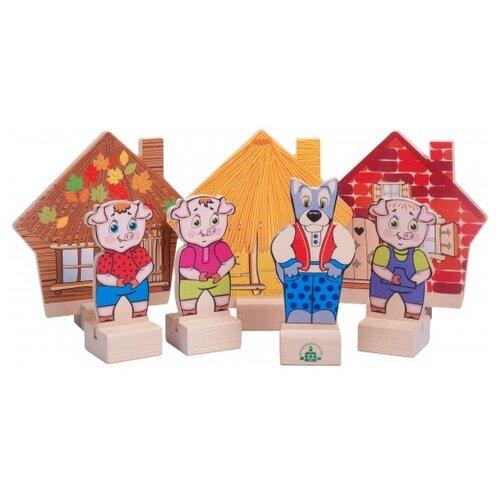 Краснокамская игрушка Кукольный театр Три поросенка игрушка