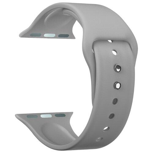 Фото - Lyambda Силиконовый ремешок Altair для Apple Watch 42/44 mm grey lyambda силиконовый ремешок alcor для apple watch 42 44 mm green