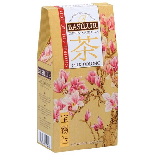 Чай улун Basilur Chinese collection Milk oolong, 100 г чай улун императорский чай collection china milk oolong 120 г