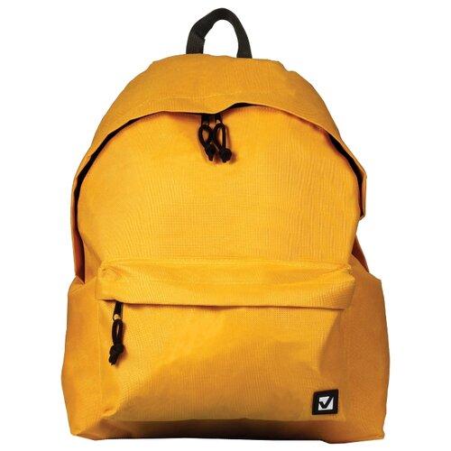 Купить BRAUBERG Рюкзак (225378), желтый, Рюкзаки, ранцы