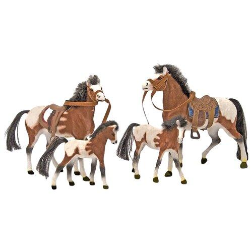 Фигурки Melissa & Doug Collectible Horse Family 2238 фигурки melissa
