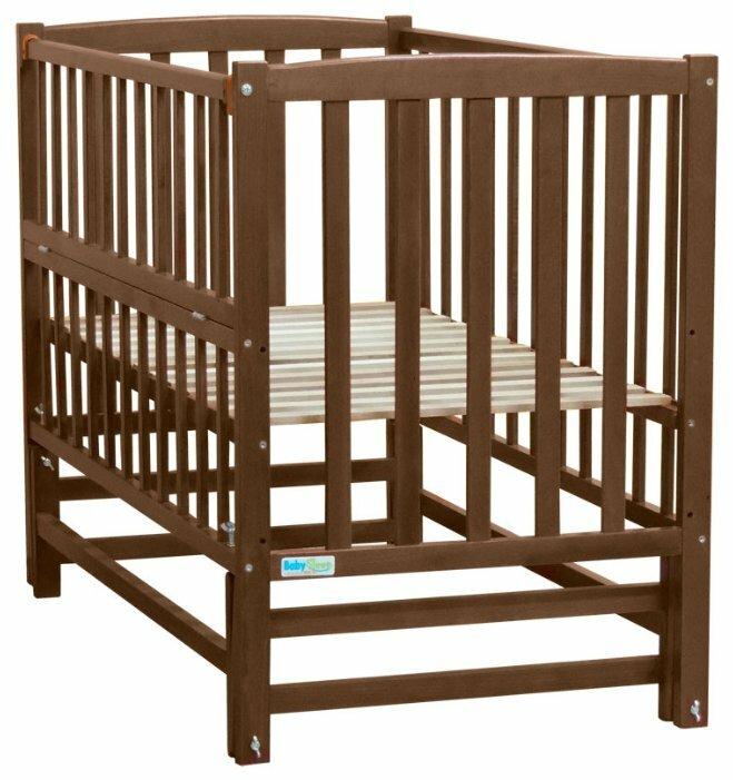 Кроватка Baby Sleep Milena (маятник, откидная стенка)