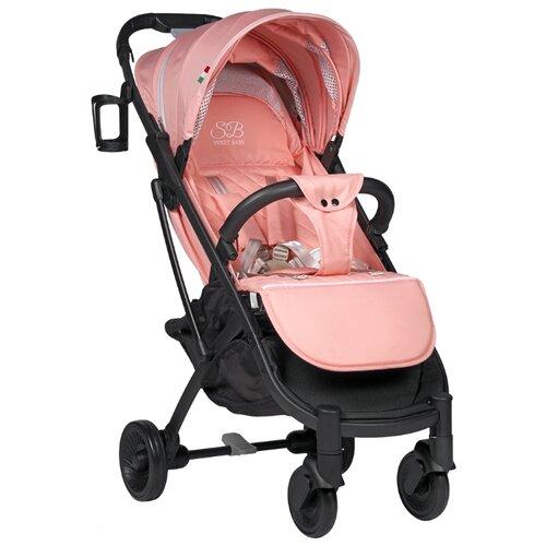 Прогулочная коляска SWEET BABY Compatto pink прогулочная коляска sweet baby suburban compatto black