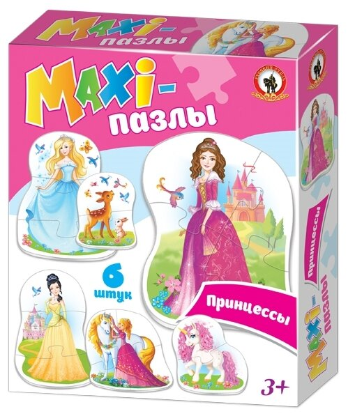 Набор пазлов Русский стиль Maxi Принцессы (02550)