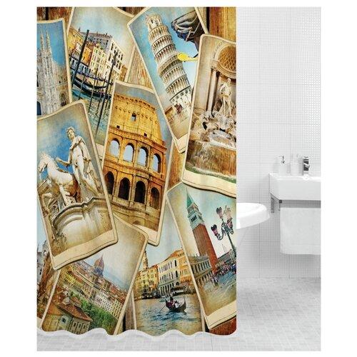Штора для ванной Bath Plus Italy 180х200 штора для ванной joyarty с любовью от котика 180х200 sc 91956