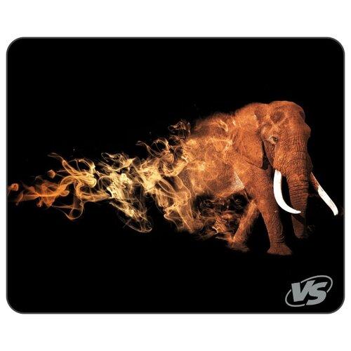 Коврик VS Flames Слон (A4758) черный/серый/желтый