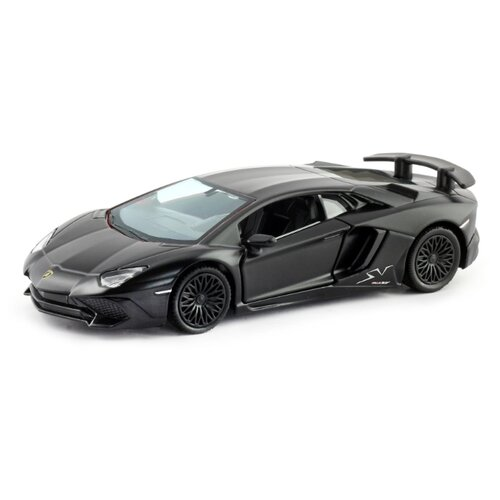 Купить Легковой автомобиль RMZ City Lamborghini Aventador LP 750-4 Superveloce (554990M) 1:32 12.5 см черный, Машинки и техника